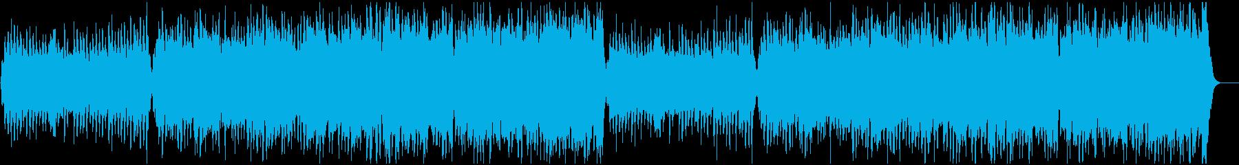 フルストリングスと木管によるワルツの再生済みの波形