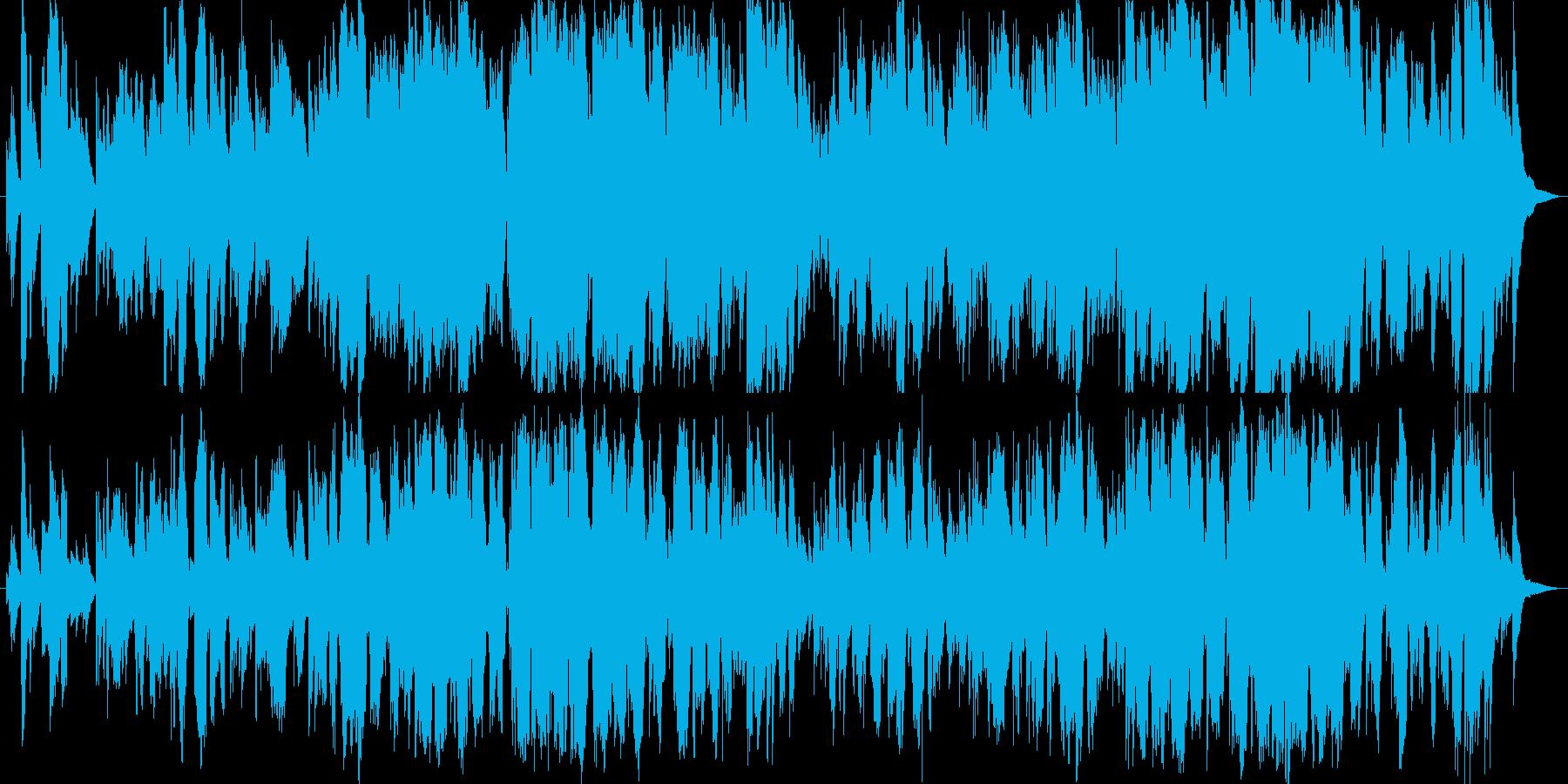 せつないピアノバラードです。の再生済みの波形