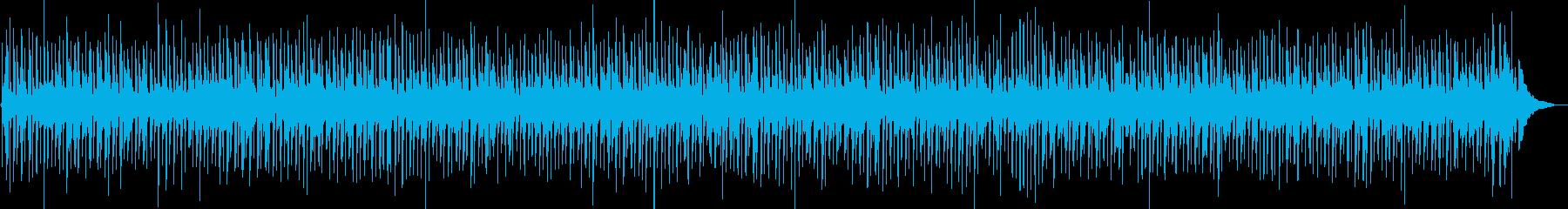 おしゃれ日常カントリーギター ズンチャの再生済みの波形