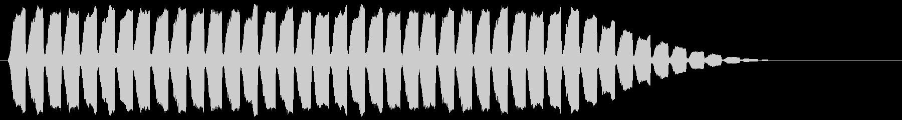 「サイレン」救急車/緊急_000の未再生の波形