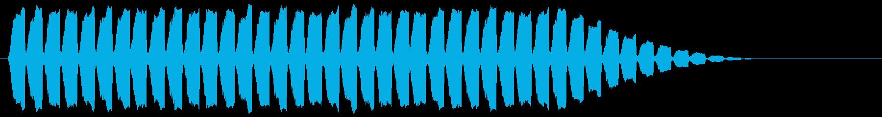 「サイレン」救急車/緊急_000の再生済みの波形