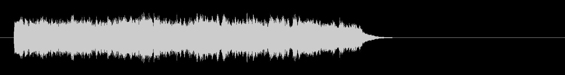 ウェディング風バラード(サビ)の未再生の波形