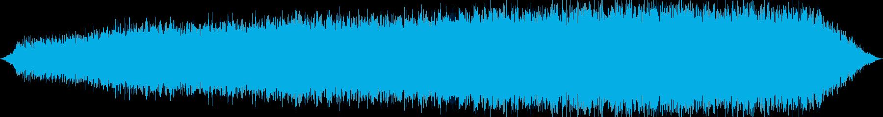 未知の世界をイメージしたBGMの再生済みの波形