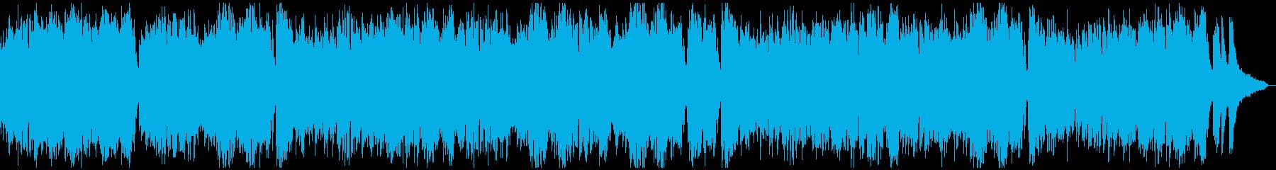 ★★現代音楽風タイムラプス用ピアノ★7分の再生済みの波形