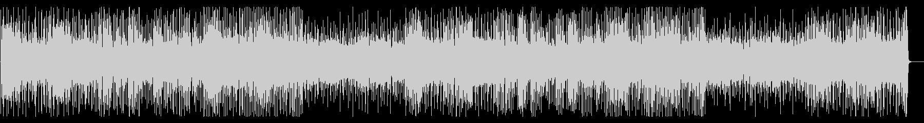 YouTube 軽快で元気なピアノの未再生の波形