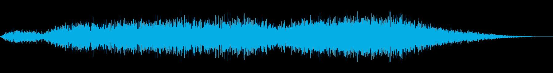 ハウリングウインドの再生済みの波形