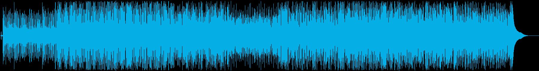 ハッピーな口笛アコースティックポップ♫の再生済みの波形
