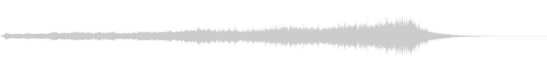 ホラー系効果音06の未再生の波形