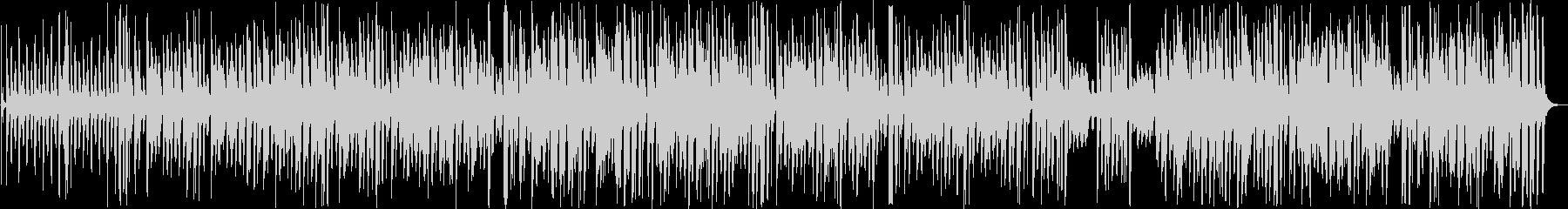 楽しげなインフォメーション曲の未再生の波形