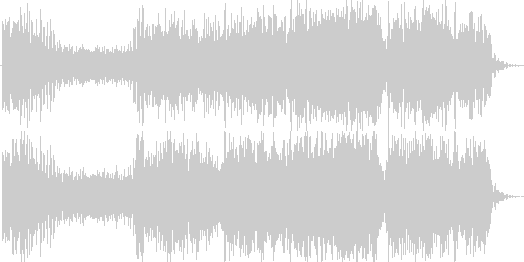 ボタン・レバー・開始音・打撃音の未再生の波形