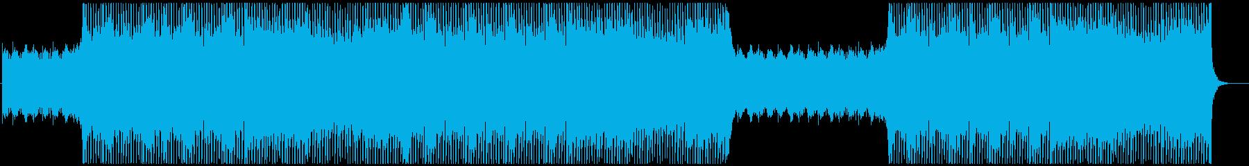 疾走感 緊張感 戦闘 バトル ピアノの再生済みの波形