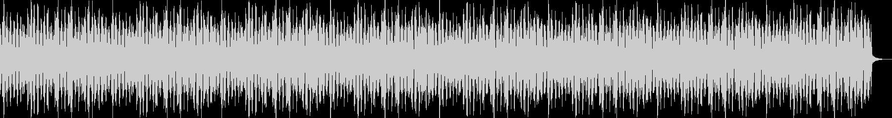 軽快なリズムのピアノBGMの未再生の波形