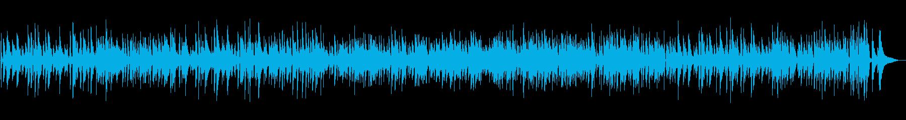 おしゃれジャズ大人なピアノYouTubeの再生済みの波形