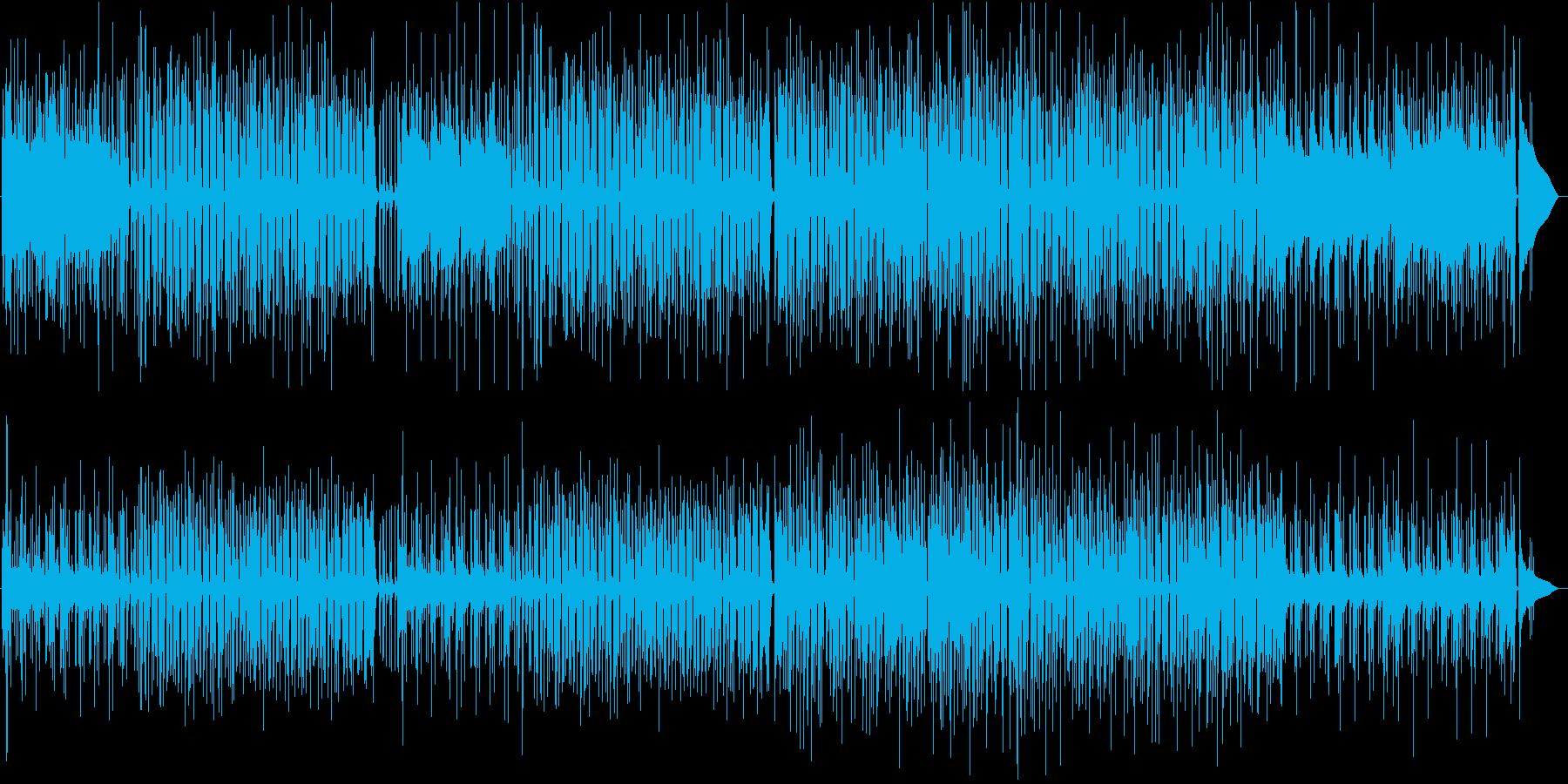 ウクレレとスチールパン/ドラム抜きの再生済みの波形