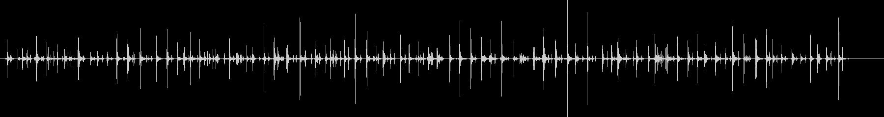 チャチャ..。PCタイピング音(低・長)の未再生の波形