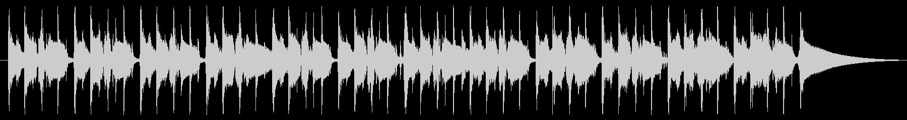使いやすいファンク 30秒版の未再生の波形