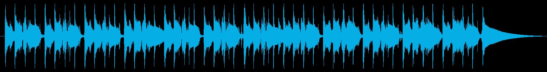 使いやすいファンク 30秒版の再生済みの波形