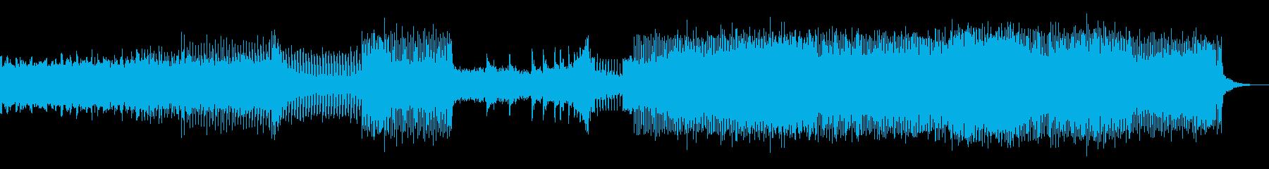 幻想的ホラー 京風ハードテクノエレクトロの再生済みの波形