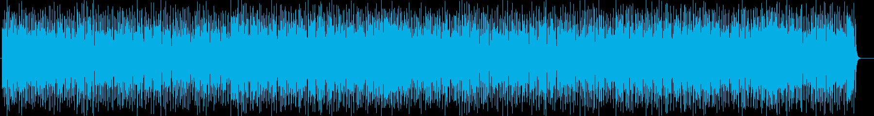 疾走感のあるピアノサウンドの再生済みの波形