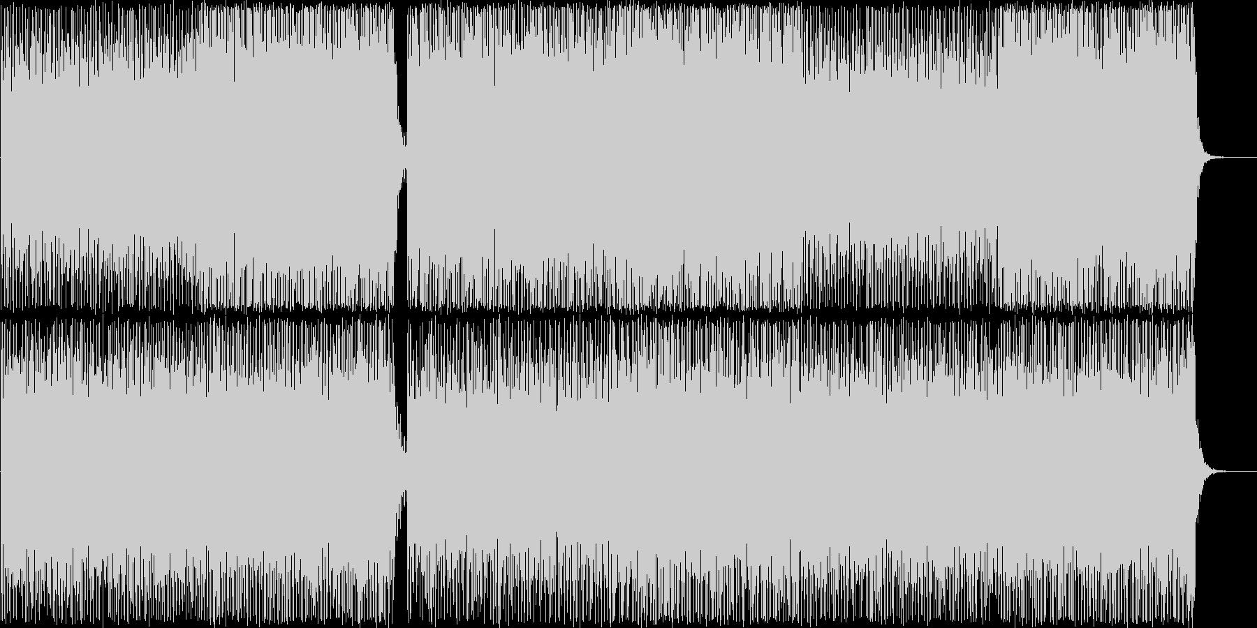 エレクトロニックポップBGM(Voなし)の未再生の波形