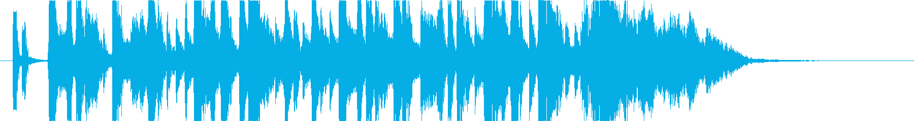 ジングル.ウキウキ.ガール.キュートの再生済みの波形