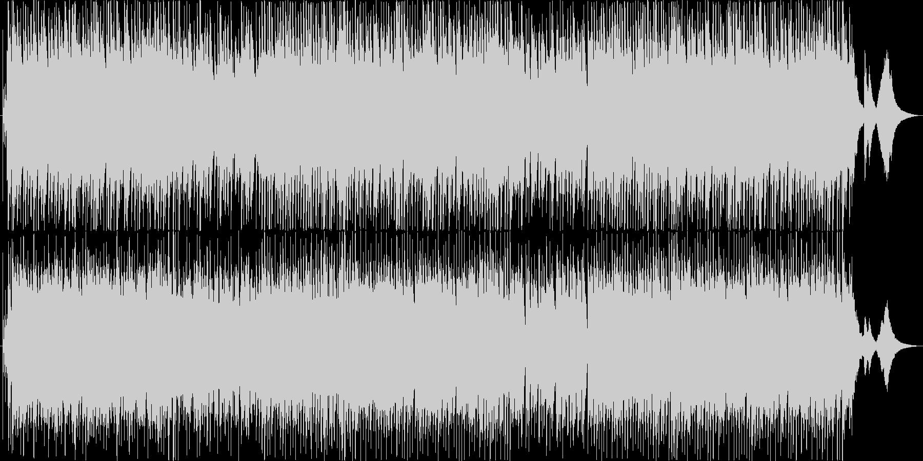 ジングルベル♪ジャズ/クリスマス定番曲の未再生の波形