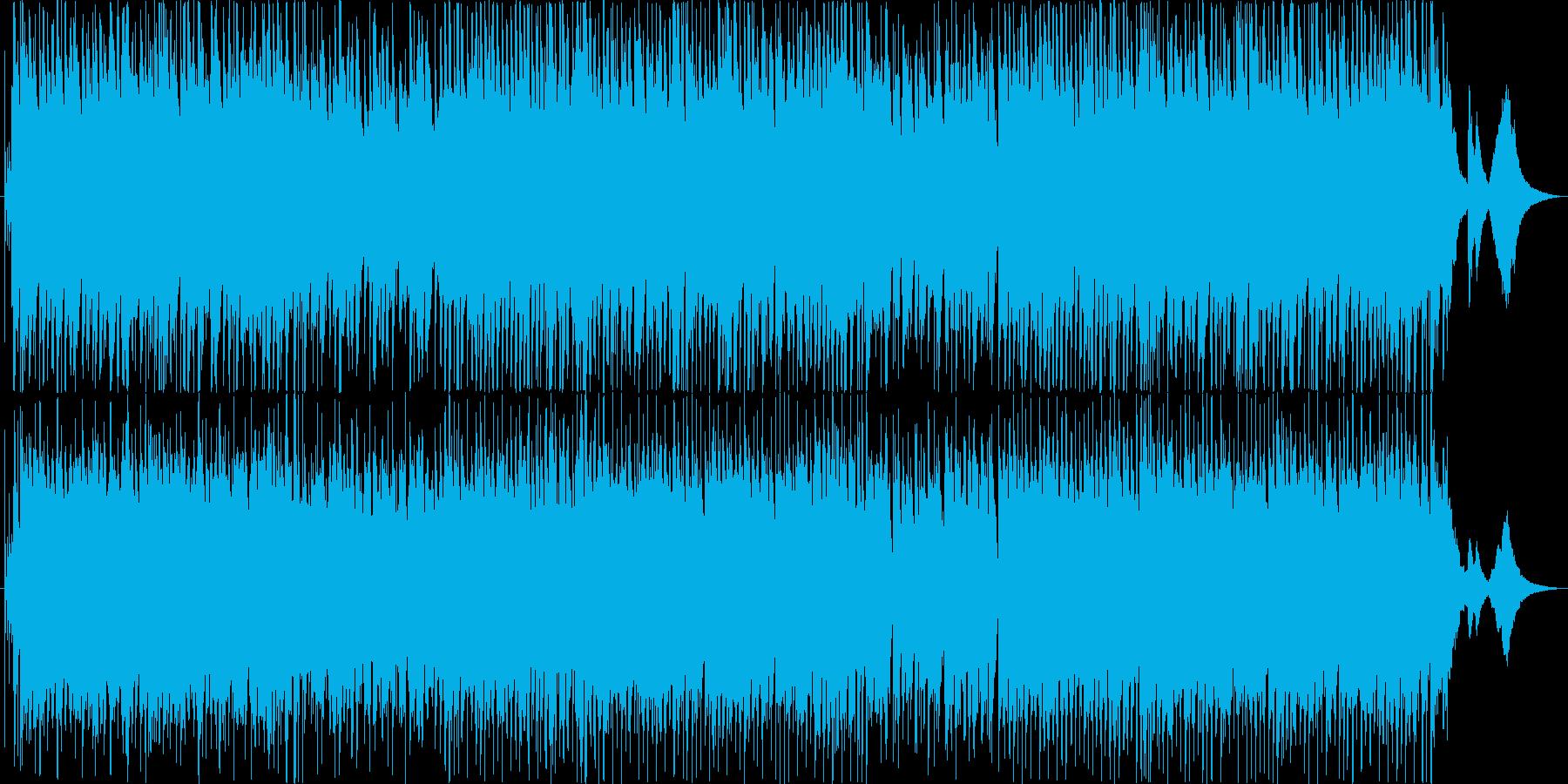 ジングルベル♪ジャズ/クリスマス定番曲の再生済みの波形