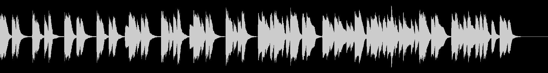 知育・料理・パズル・日常ピアノ25Aの未再生の波形