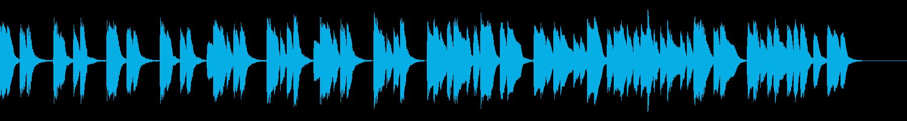 知育・料理・パズル・日常ピアノ25Aの再生済みの波形