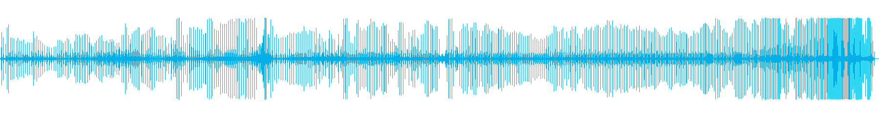 おならホットチリブラストスロードローンの再生済みの波形