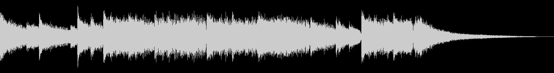 VP・CM 癒やし系ピアノソロの未再生の波形