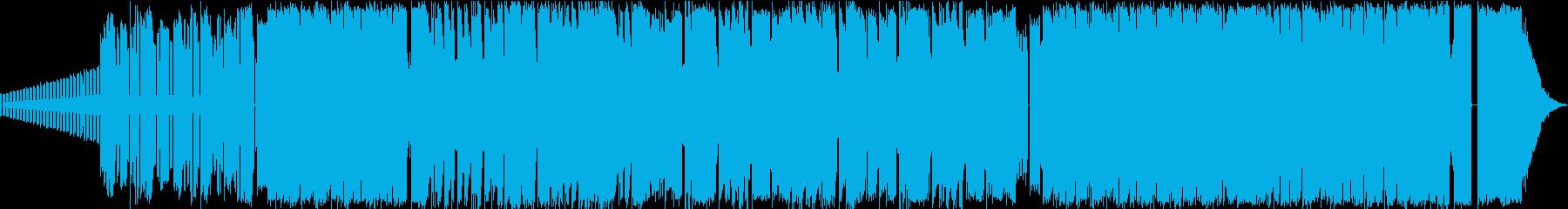 8bit系ポップでファンシーなチップチュの再生済みの波形