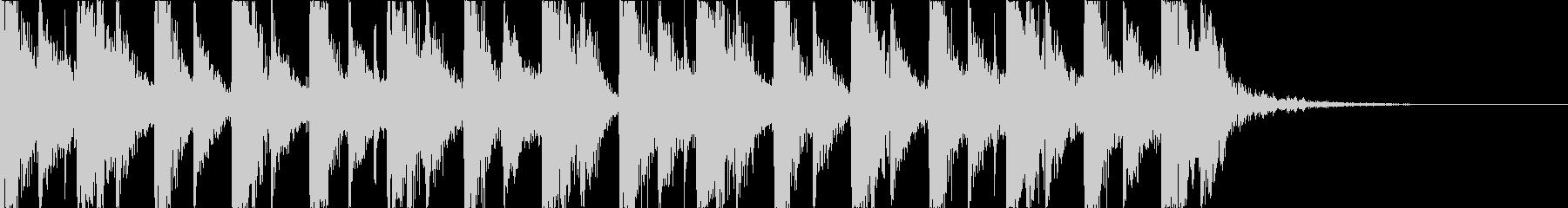 キャッチーで深みのあるEDMの未再生の波形