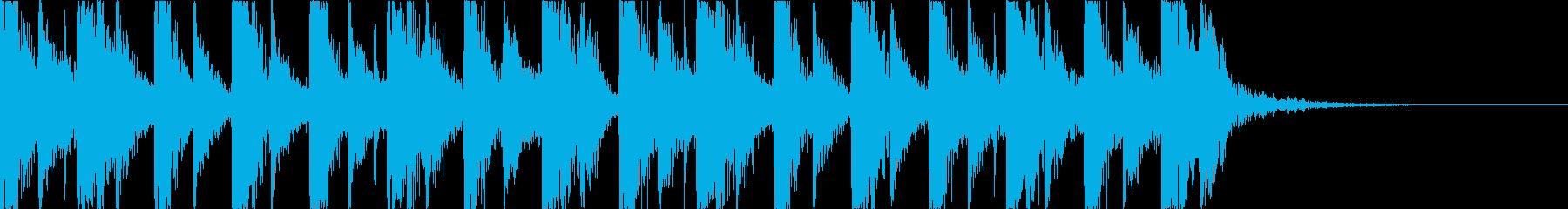 キャッチーで深みのあるEDMの再生済みの波形