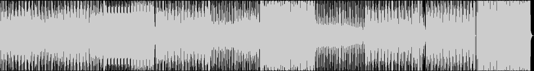 サイケデリックなトランスの未再生の波形
