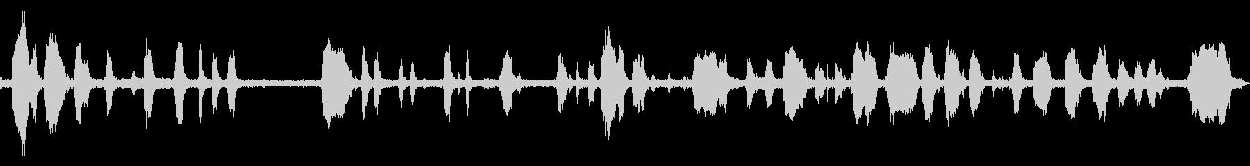 工事の音が入っている環境音の未再生の波形