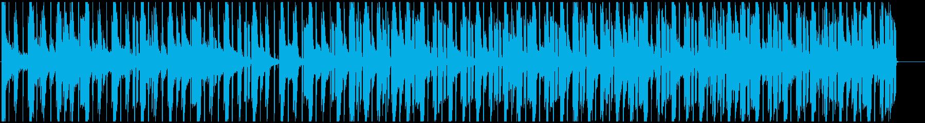 チルアウト明るく穏やかなイメージのR&Bの再生済みの波形