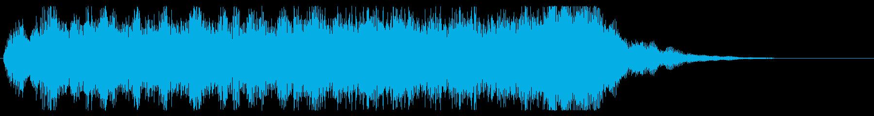 勇壮なジングル オーケストラ パターンBの再生済みの波形