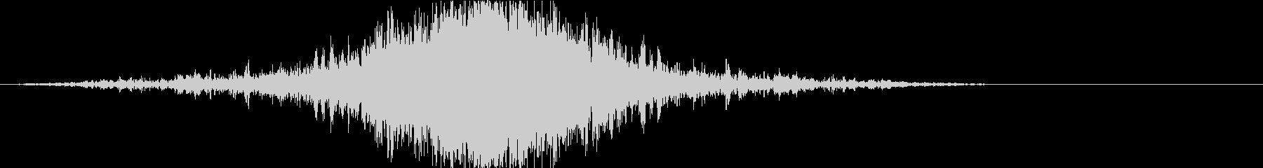 ドラマティックなリバース音38-02の未再生の波形