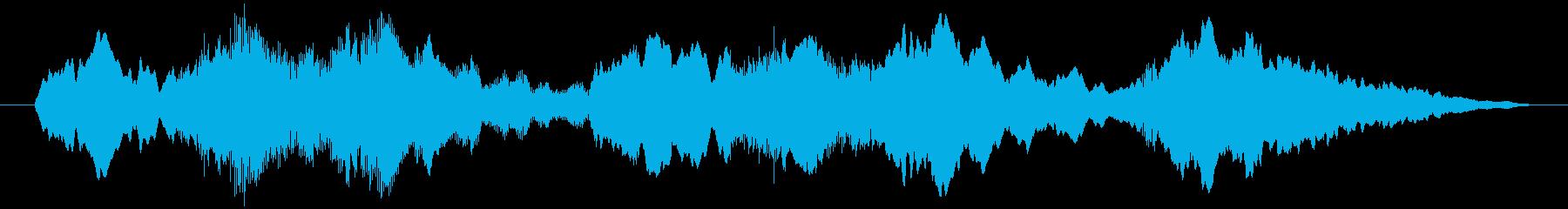 ローストリングパッドの再生済みの波形