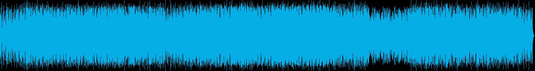仲間、青春を思い描くエレクトロサウンドの再生済みの波形