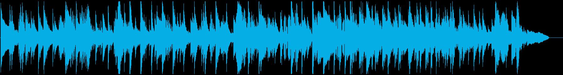 渋いテナーサックスの哀愁系ジャズバラードの再生済みの波形