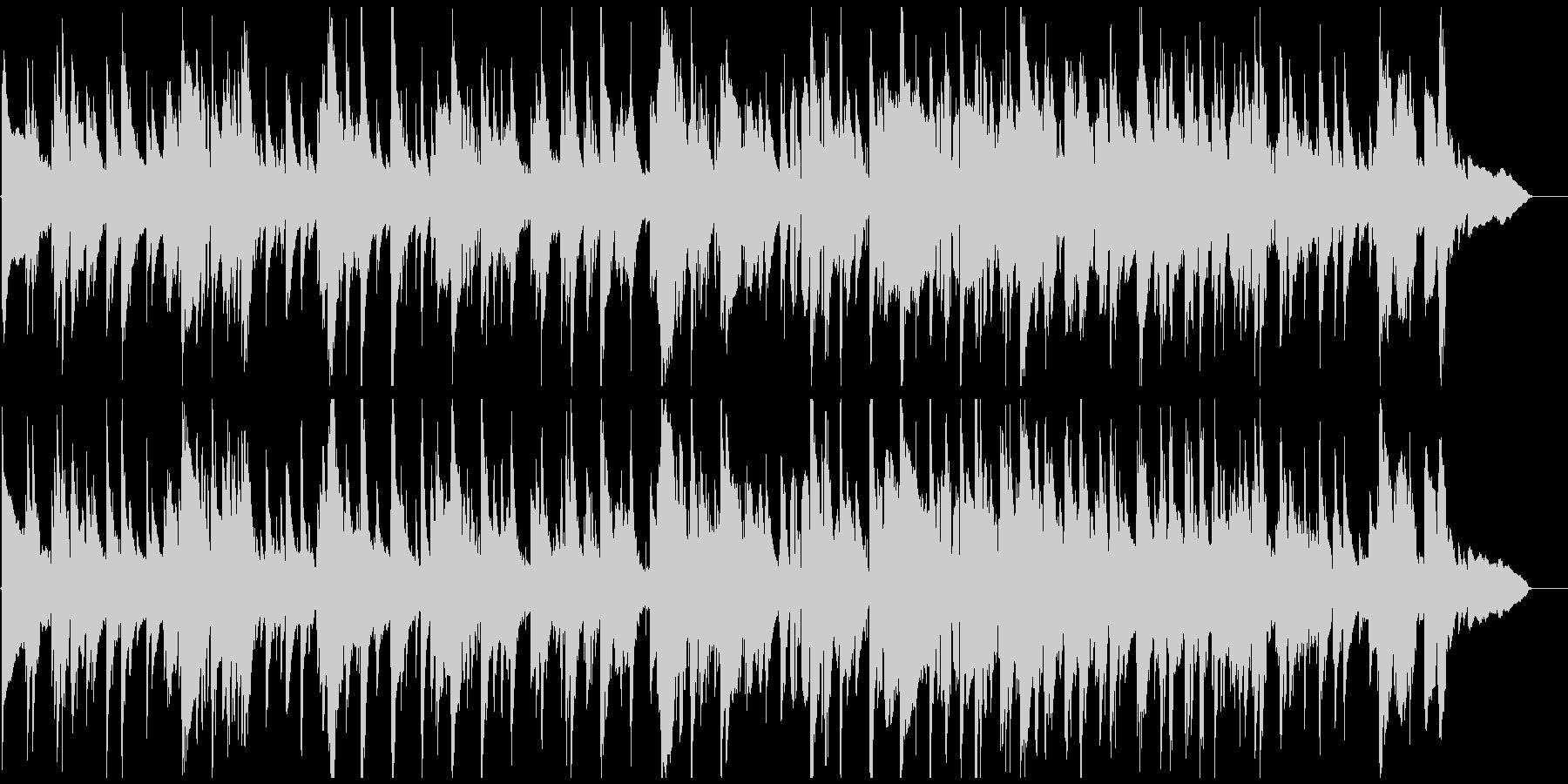 渋いテナーサックスの哀愁系ジャズバラードの未再生の波形