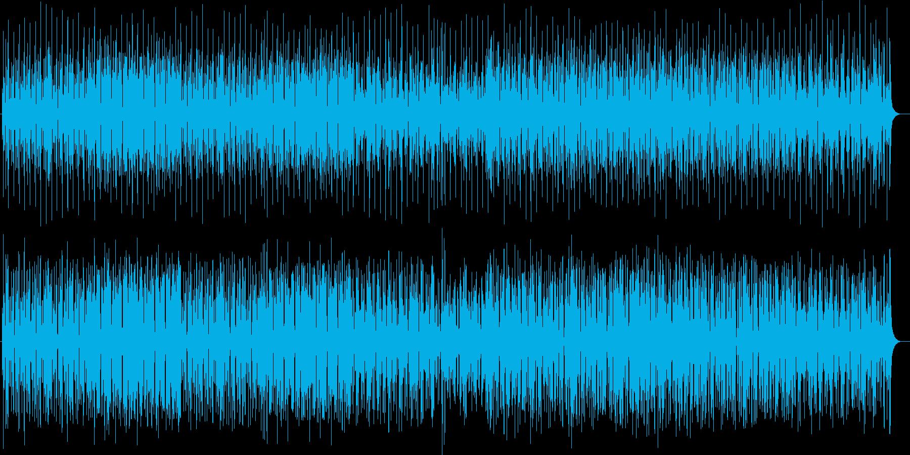 明るく楽しいシンセサイザーポップの再生済みの波形