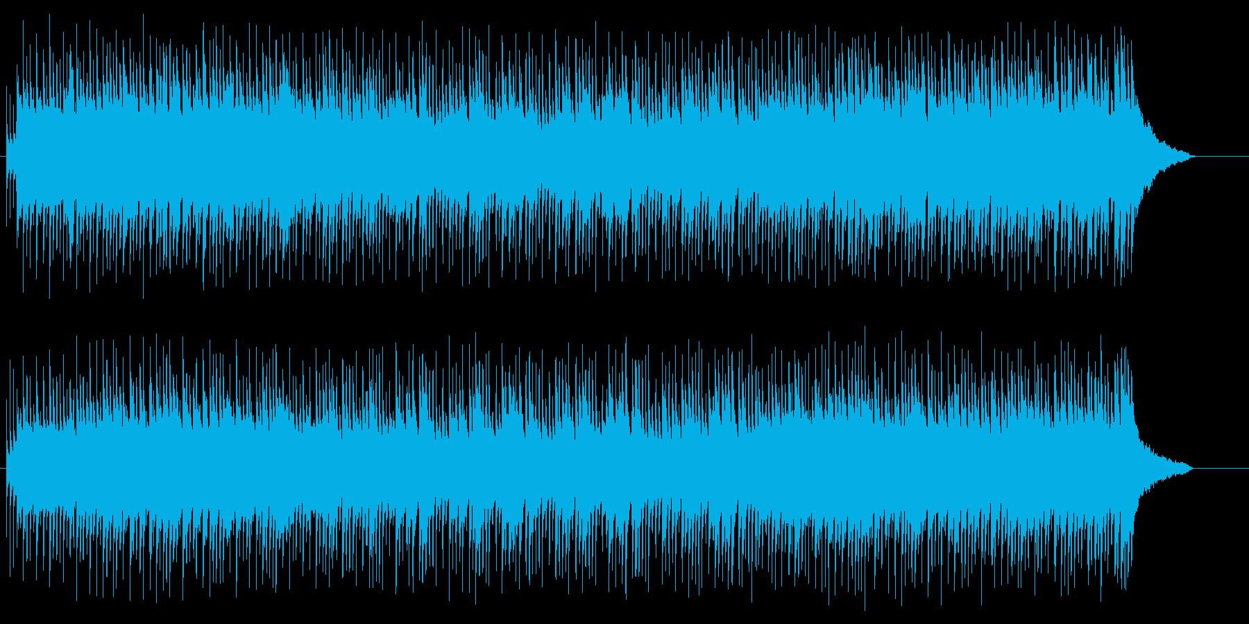 ベルの音色によるポップ/ロックの再生済みの波形