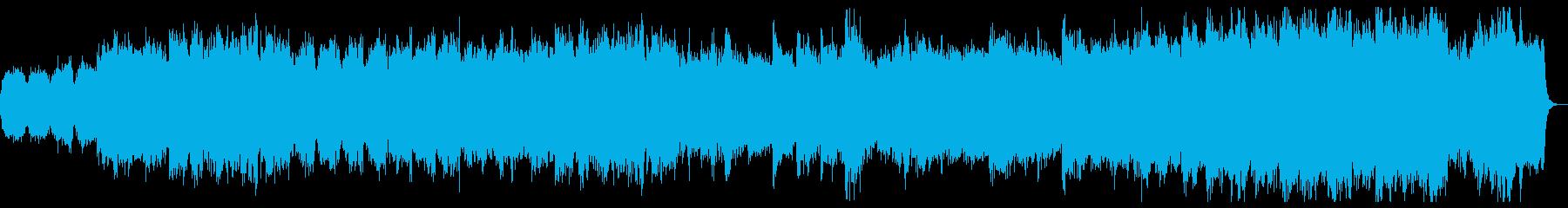 弦楽器主体のきれいなクラシック風ポップスの再生済みの波形