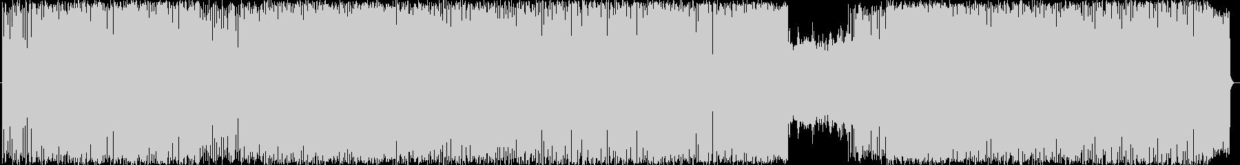 可愛い楽しいウキウキテクノポップの未再生の波形