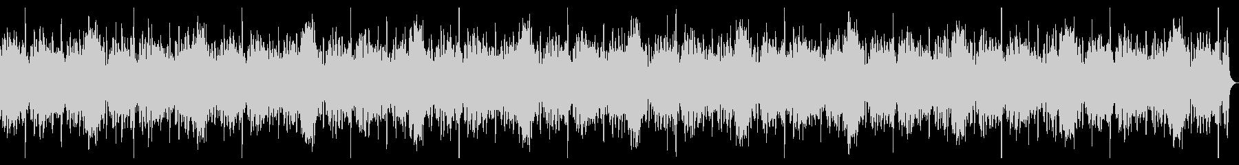 波の音が印象的な明るいBGMの未再生の波形