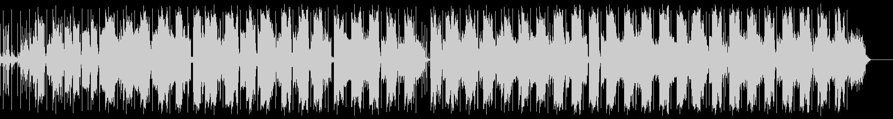 抽象的な音をコラージュした映像音楽の未再生の波形