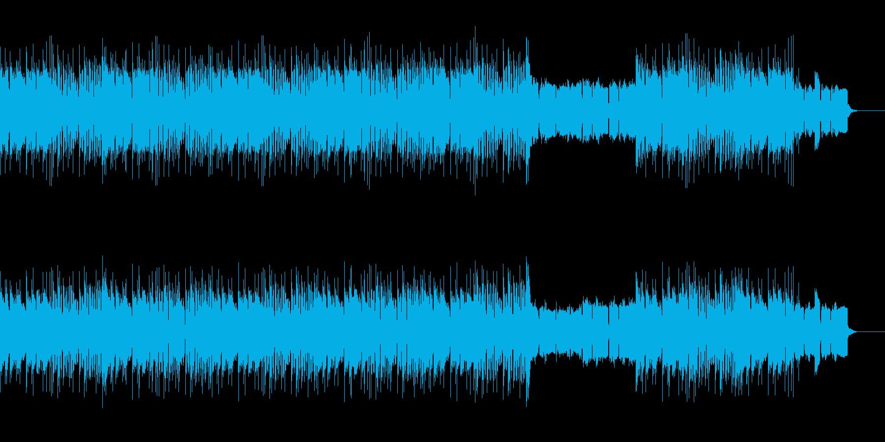 サスペンスダークなハードコアヒップホップの再生済みの波形